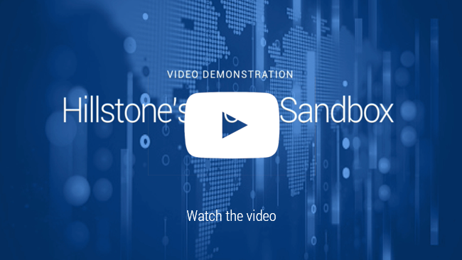 Watch Video: Hillstone Cloud Sandbox Demo