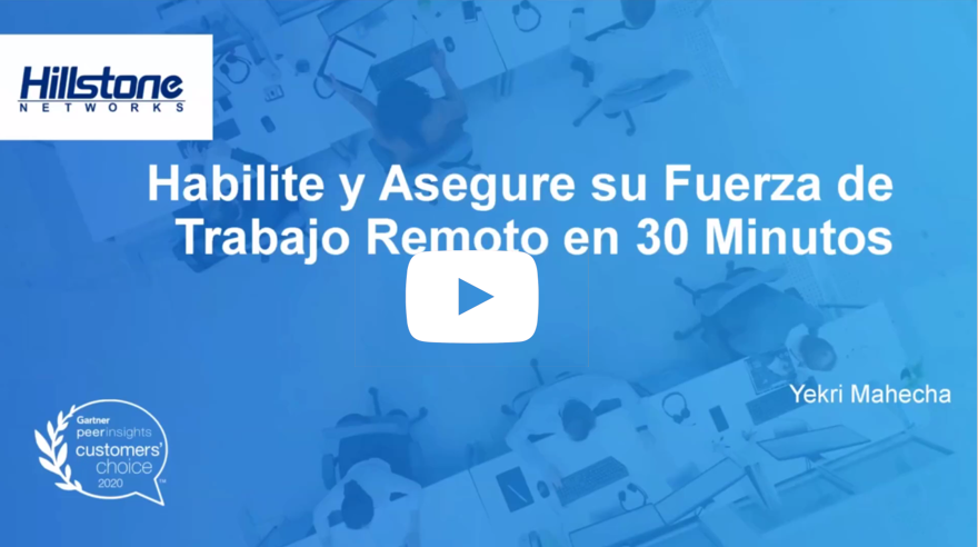 Watch Active y Proteja su Teletrabajo en 30 Minutos