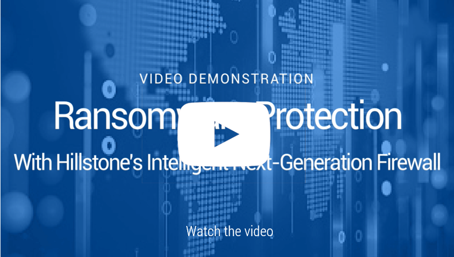 Watch Video: Demo de protección Ransomware