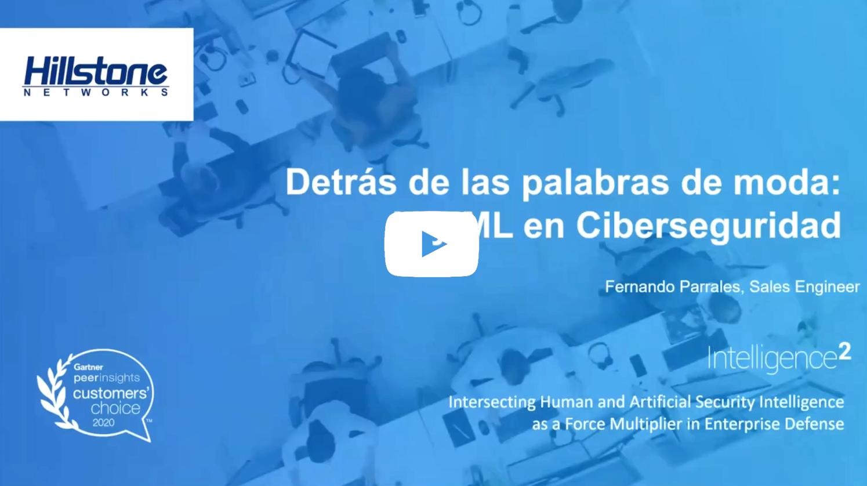 Watch La seguridad de la red va más allá de las palabras de moda como lA y ML